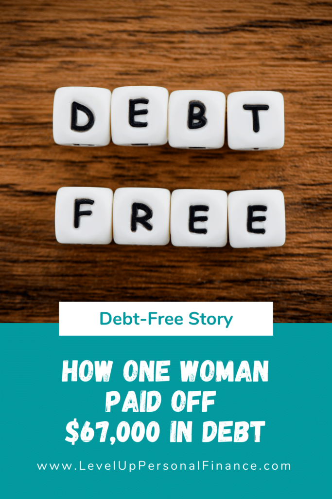woman paid off $67,000 debt story